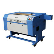 New Reci 100w Co2 Usb Laser Engraving Cutting Machine + Motor Up And Down Table