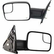 New Set Of 2 Lh And Rh Mirrors For Dodge Ram Trucks 1500 / 2500 / 3500 2002-2009