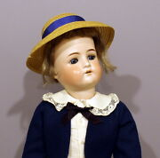 Antique German Bisque Doll - By Cuno And Otto Dressel