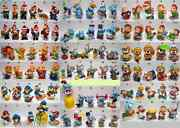 Complete Collectible Figures Toys Set From Kinder Surprise Eggs Vintage