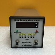 Omega Cn101, 0 To 500°c, Type J Thermocouple, 6-zone, High Temperature Alarm