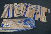 + Fine Older Marian Vestment Set + Cope Chasuble Dalmatic Tunic And 3 Stoles +