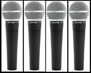 4 New Shure Sm58 Vocal Mics Authorised Dealer Make Offer Buy It Now