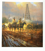G Harvey A Different Kind Of Lease Lithograph Signed Numbered Limited Edition