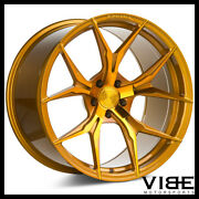 20 Rohana Rfx5 Gold Forged Concave Wheels Rims Fits Lexus Is250 Is350