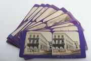 11 Stereoviews Flat Cards France C. 1860 Stereo 3d Photo By Ja Jean Andrieu