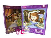 New Sofia The First 24 Piece Jigsaw Puzzle 2 Assorted Kid Children Toys