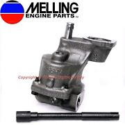 New Melling Hv Oil Pump And Shaft Some Chevy V6 And V8 400 350 327 307 305 283 267