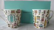 And Co Bone China 5th Avenue Coffee Mug Cup With Gift Box From Japan
