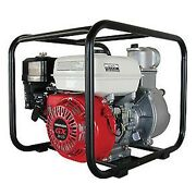 4 General Purpose Water Pump - Honda Gx240 Engine - 8hp - 528 Gpm - Suction 26and039