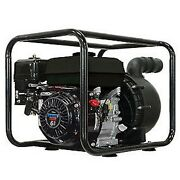 26' Suction 2 Nylon Transfer Water Pump - 6.5hp 200gpm - 200cc Engine No Solids