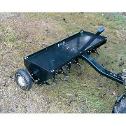Plug Aerator - Tow Behind - 48 Long - 32 Spikes - Commercial Duty