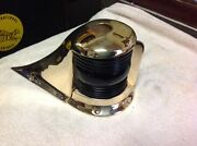 Vintage Boat Bow Light Polished Bronze Rewired June 16and039