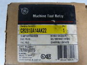 General Electric Cr2810a14ak22 Relay Contactor New