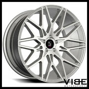 20 Koko Kuture Funen Silver Concave Wheels Rims Fits Ford Mustang Gt Gt500