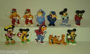 Collectible Complete Set Figures Mickey Mouse And Friends Kinder Surprise 1989