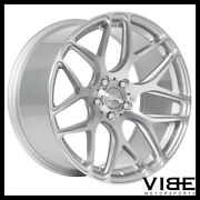 19 Mrr Ground Force Gf9 Silver Concave Wheels Rims Fits Acura Tl