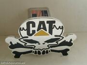 Hitch Cover,skull Caterpillar,expedition,chevy,ford,h2