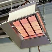 Industrial Infrared Heater - Natural Gas Or Propane - 30000 To 155000 Btu