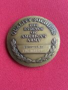 Real Challenge Coin Army Deputy Chief Of Staff For Personnel Dcsper Ltg Maude