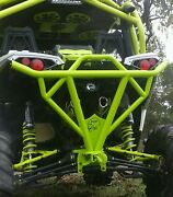 Canam Utv Maverick Xds And Xrs Rear Bumper W/hitch In Can Am Colors.