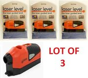 Lot Of Laser Guided Edge Level Pool Leveler Straight Project 50ft Line Tool New