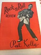 Rock And039n Roll Review 12 Page Brochure With Country Music Stars From The 1950and039s