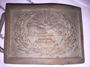 Ohio Belt Buckle With Seal Of Ohio Old Maybe Civil War