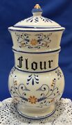 Heritage By Royal Sealy Flour Jar, With Lid