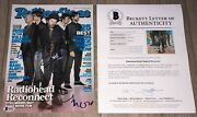 Radiohead Signed Rolling Stone Mag Thom Yorke +4 W/exact Proof And Beckett Bas Loa