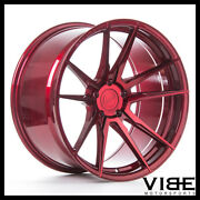 20 Rohana Rfx2 Red Forged Concave Wheels Rims Fits Ford Mustang Gt