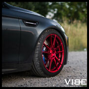 20 Rohana Rfx2 Red Forged Concave Wheels Rims Fits Bmw E60 M5