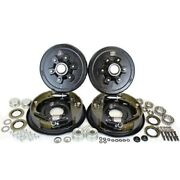 6-5.5 Bolt Circle 5200 Lbs. Trailer Axle Hydraulic Brake Kit
