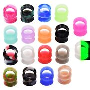 All 18 Pairs-36pieces-ultra Thin Soft Silicone-ear Gauges- Ear Plugs-ear Tunnels