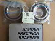 Barden 2110hdl Precision Bearings Matched Set New In Box Free Shipping