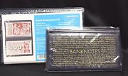2 Lighthouse Large And Regular Banknote Album Currency Holder Post Card Document
