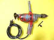 Vintage Speedway Manufacturing Electric Drill Type 89j Used