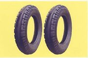 2 4.00-12 Original Firestone Front Tractor Tires And Tubes Fits Allis Chalmers G