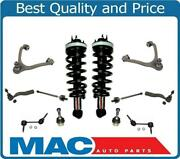 03-11 Crown Victoria Town Car Front Spring Struts Control Arms Ball Joints 12pc