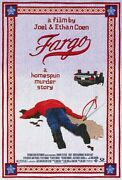 Fargo Movie Poster [licensed-new-usa] 27x40 Theater Size Coen Brothers 1996