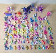 85pc My Little Pony Friendship Is Magic Lot Ponies Mixed