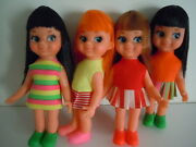 1970and039s Chika / Chiko Chan Shiba Dolls Type / My-toy Co. Tiny Terry Clone Japan