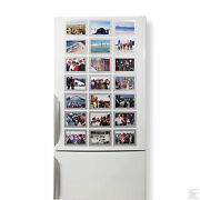 High Quality Designer Magnetic Picture Frames - 12 Pack Of 6x4 Photo Frames