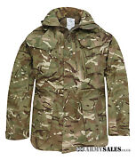 Genuine British Army Surplus Mtp Camouflage Windproof Combat Smock Grade 1 And New