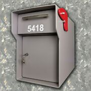 Ft. Knox Mailbox 1/4 Steel Heavy Duty Extreme Security The Vacationer 136 Lbs.