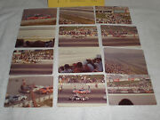 Los Angeles Times 500 Grand National Stock Car Race Photo's And Line Up Sheet