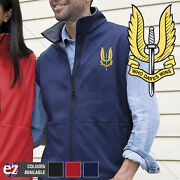 Special Air Service - Body Warmer With Embroidered Badge