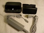 Wii U Gamepad Off Brand Charger And Original Stand + Charging Dock