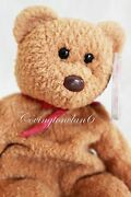Ty Beanie Baby Curly Bear 1993 With Very Rare Collectible Hang Tag Errors