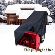 Cover For 2 Stage Snow Thrower Machine Snowblower Two Snowthrower Blower Storage